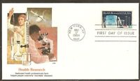 US SC #2087 Health Research FDC. Fleetwood Cachet