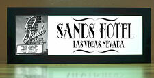 Sands Hotel Las Vegas Nevada Game Room/Theatre Style LED Illuminated Sign Light