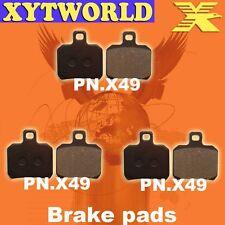 FRONT REAR Brake Pads PIAGGIO X9 500/500 SL 2000 2001 2002