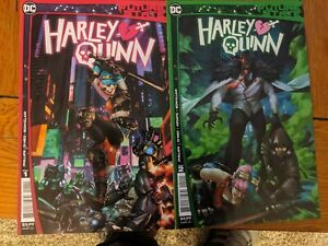 FUTURE STATE HARLEY QUINN # 1 AND # 2 DC Comics 2021 1st prints all near mint