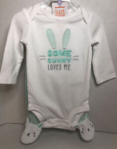 NEW Just One You by Carter's Boy/Girl Easter Outfit - 2 Pieces Sizes 3/6 Months