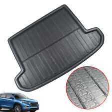 1pc For 2016-18 Hyundai Tucson Boot Mat Rear Trunk Liner Cargo Floor Sheet Tray (Fits: Gmc Safari)