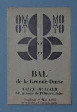 [Avant-garde russe] BAL DE LA GRANDE OURSE, 1925, LARIONOV