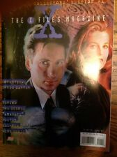 The X Files Magazine Chris Carter Winter 1996  With Anasazi Poster, Trading Card