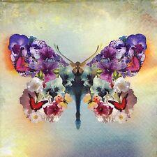 TOVAGLIOLI di carta 4x-Farfalla Colorata-Per Decoupage Decopatch Craft