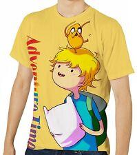 Adventure Time Herren Kurzarm T-Shirt Tee wa1 aao30413