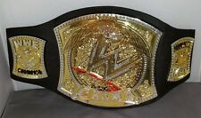 (3) WWE Toys Figure Case- Replica Belt-Tornado Takedown Spinning Wrestling Ring