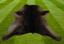 """B Grade Calfhide Rugs Area Cow Skin Leather Cowhide ULG 35802 (30"""" X 22"""" )"""