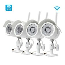 Zmodo Wireless Home Security Camera (4 pack) 720 Smart IP HD IR Cut WiFi Cameras