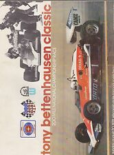 AUG 20 1978 car racing program TED BETTENHAUSEN CLASSIC