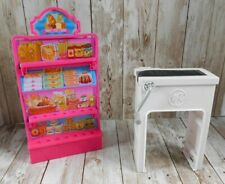 Barbie Malibu Ave Supermarket Grocery Store Shelf Check Out Counter Replacement