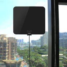 Intdoor 1080P HDTV Built-in Amplifier Antenna Digital HD TV 65 Mile UHF/VHF/FM