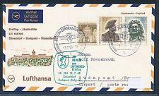 96500) LH FF Düsseldorf - Budapest 12.7.68, SoU ab Berlin