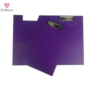 Foldover PVC A5 Clipboards - Various Bright Colours and sizes