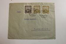 Brief,gel.1919 aus Warnsdorf