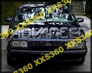 ORACLE Halo HEADLIGHTS for Chevrolet Caprice/Impala 78-96 WHITE LED Angel Eyes