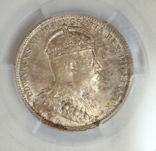 CANADA 25 CENTS 1907 PCGS MS62