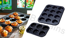 6/12 LARGE MUFFIN YORKSHIRE PUDDING MOULD CUPCAKE BAKING TRAY BAKEWARE