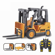 Radio Remote Control Toy RC Fork Lift Forklift Truck Mechanical Model Toy 32cm