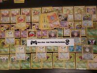 🌸 JUNGLE SET 🌸 Pokémon Collection WOTC Lot ( Holo Rare ) OLD VINTAGE CARDS!