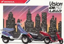 P + HONDA CN 250 + Lead NH 50 + Vision 50 + PROSPEKT + 4 Seiten + aus 1/1992