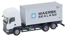 Faller H0 161598 cs Scania R 2013 TL Cont.Lkw Maersk (Herpa) NEU/OVP