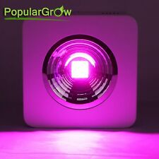PopularGrow COB Reflector led grow light 200W Indoor Hydroponics Plant Veg bloom