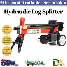 Yukon log-ele-008 240V 8 Ton Electric Hydraulic Log Splitter
