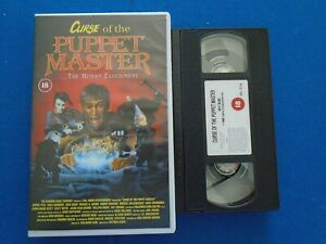 CURSE OF THE PUPPET MASTER - CHARLES BAND - BIG BOX - EX RENTAL VHS
