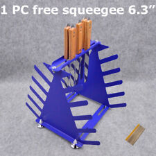 Desktop Screen Printing Squeegee Rack 5 Layers Storage Rack Silk Screen Printing