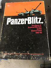 Avalon Hill Panzer Blitz Bookcase Game Punched Very Good Condition
