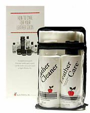 Apple Leather Care Kit 4oz Leather Cleaner and 4oz Conditioner New with Cloth