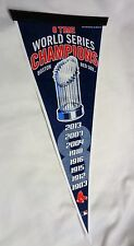 2004 2007 2013 Trophy 8x World Series Champions Pennant Boston Red Sox FREESHIP