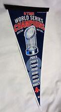 2004 2007 2013 Trophy 8x World Series Champions Pennant Boston Red Sox FREESHIP