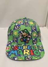 Super Mario Bros. Luigi Adjustable Fashion Baseball Cap Hip Hop Snapback Hat