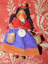 Vintage R. Garibaldi Peru Peruvian doll composition International ethnic