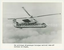 Fairey Rotodyne Helicopter Vertical take Off Airliner Large Original Photo BV472