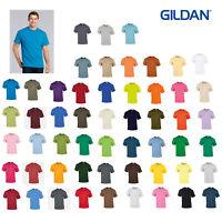 Gildan Ultra Cotton Adults Polo Shirt 2000 - Short Sleeve Casual Plain T-Shirt
