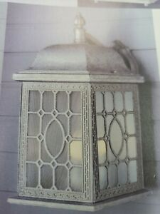 Trans Globe Lighting 4650 3 Lights Lighting Wall Sconce out door- pewter (#43b)