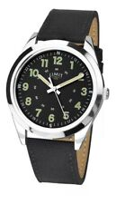 Limit Gents Military Style Watch Black Strap & Black Dial 5950