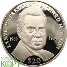 Aa3875) Liberia 20 dollar 2000