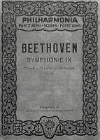 Taschenpartitur Beethoven : Symphonie IX D-moll Op. 125