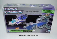 Skystalker Micromaster MIB 100% Complete 1989 Vintage Hasbro G1 Transformers
