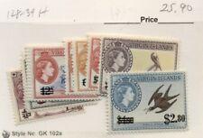 VIRGIN ISLANDS #128-39, Mint Hinged, Scott $25.90
