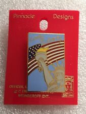 Vintage Lady Liberty Lapel / Hat Pin New On Card Pinnocle Designs 1982