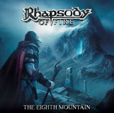 Rhapsody Of Fire - The Eighth Mountain 2 LP White Vinyl Album Power Metal Record