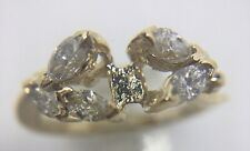 Marquise Diamond Remount Ring,14ky