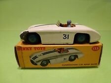 DINKY TOYS 133 CUNNINGHAM C-5R ROAD RACER - WHITE - VERY GOOD CONDITION IN BOX