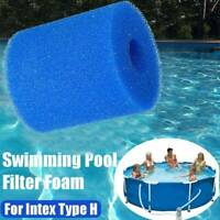 Hot Swimming Pool Hot Tub Filter Foam Washable Filter Cartridge For Intex Type H