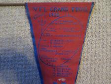 MELBOURNE FOOTBALL CLUB DEMONS VFL 1958 MINOR PREMIERS TEAM FLAG
